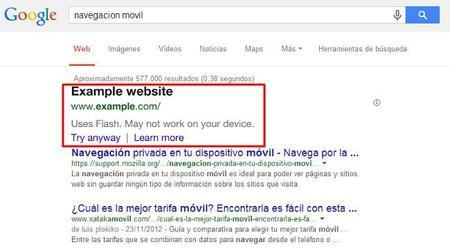 Google se chivará si tu web no se visualiza bien desde dispositivos móviles