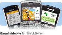 Garmin da su software de navegación a las Blackberry