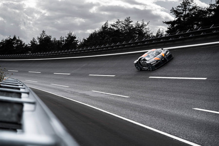 Bugatti Chiron Record Velocidad Long Tail