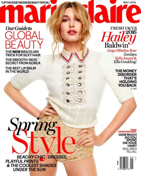Marie Claire USA: Frace Faces