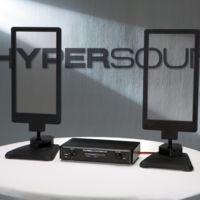 HyperSound Glass son los parlantes transparentes que pueden enviar sonido dirigido como si fuera un rayo de luz