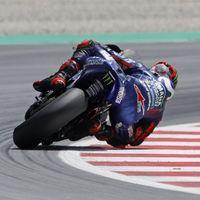 Maverick Viñales vuelve a estar delante en los test de MotoGP en Montmeló con Jorge Lorenzo tercero