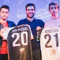 San Miguel renueva hasta el año 2021 con Team Heretics y se compromete con los esports a largo plazo