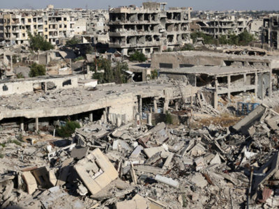La huella de la destrucción en Siria: desde el aire a vista de drone