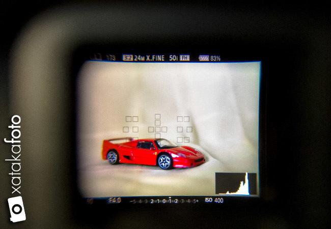 Sony A99 detalle visor electrónico