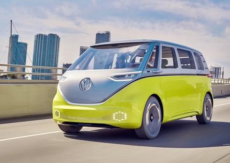 Volkswagen Id Buzz Concept 2017