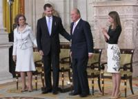 La princesa Doña Letizia repite vestido antes de ser reina