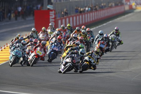 Salida Moto2 Gp Valencia 2016