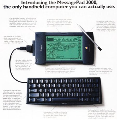Apple Newton publicidad