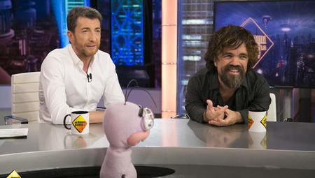 Peter Dinklage con Pablo Motos