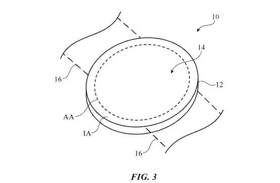 Patente Apple™ Pantalla Redonda 2