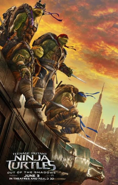 Ninja Turtles 2 Fuera De Las Sombras