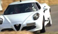 Alfa Romeo 4C choca en Goodwood