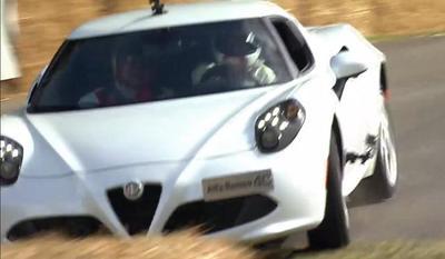 Alfa Romeo 4C choca en Goodwood