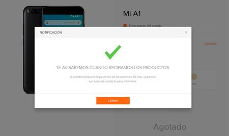 Xiaomi Mi A1 Agotado