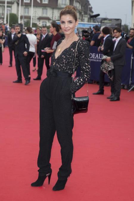Ceremonia apertura American Film Festival de Deauville 2014. Clotilde Courau.