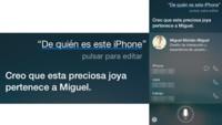 Siri, ¿de quién es este iPhone?
