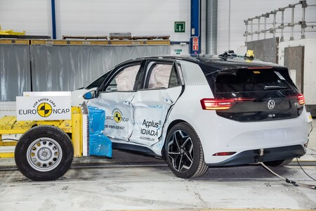 Volkswagen Id 3 Obtiene 5 Estrellas En Euro Ncap 2