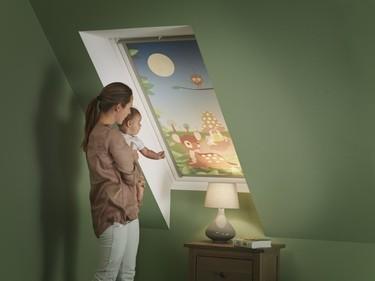 Velux y Disney se unen para llenar de fantasía la habitación de los niños