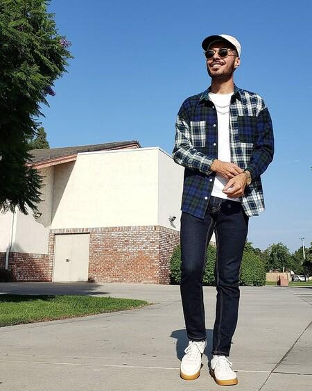 El Mejor Street Style De La Semana Camisa Cuadros Franela Lenador 10