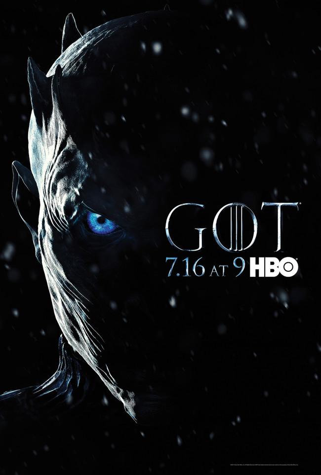 Game Of Thrones Season 7 Poster Night King
