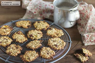 Receta de cookies con dos ingredientes
