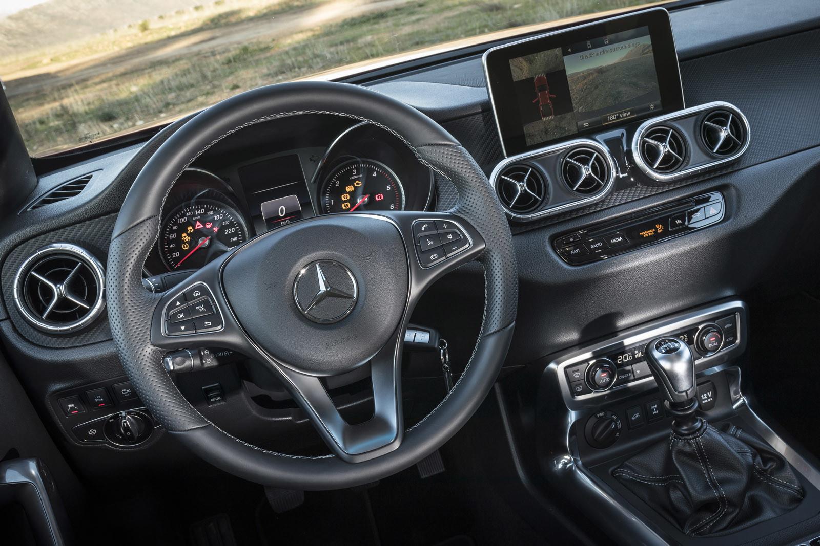 Foto de Mercedes-Benz Clase X, primeras impresiones (54/70)