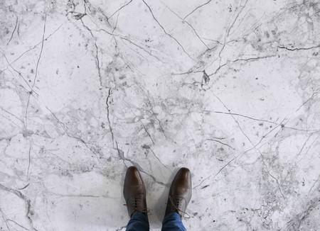 White Marble Feet