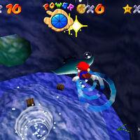 Super Mario 64: cómo conseguir la estrella The Manta Ray's Reward de Dire, Dire Docks