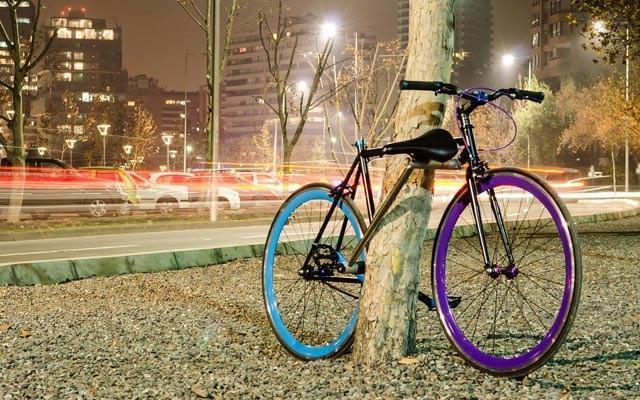 Esta bicicleta es su propio candado para evitar que te la roben