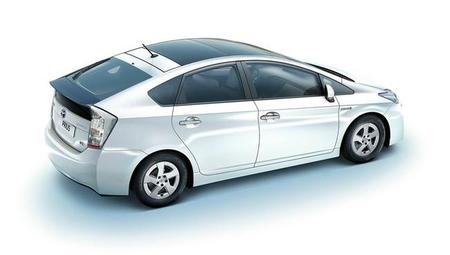 Toyota Prius parte trasera-lateral