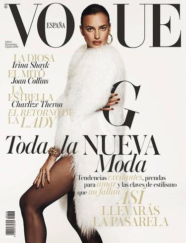 Irina Shayk se convierte en la portada de septiembre de Vogue España ¿demasiado aburrido?