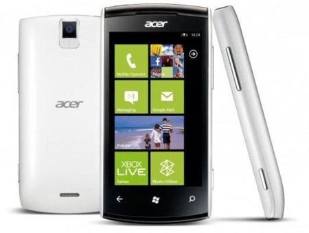 Acer presenta su primer Windows Phone: Acer Allegro
