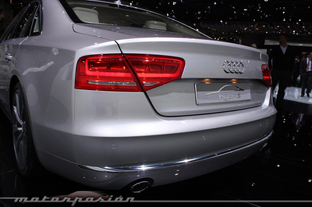 Foto de Audi A1 y A8 híbridos en el Salón de Ginebra (3/18)