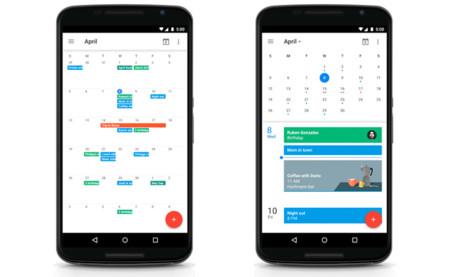 Google Calendar para Android recupera la vista mensual