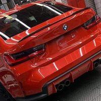¡Filtrado! El nuevo BMW M3, la versión más radical de la berlina compacta, se deja ver aún en el horno