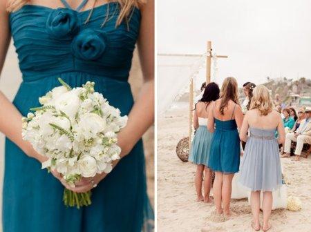vestidos de fiesta para bodas en la playa