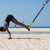 Circuito de 20 minutos para ponerte en forma en la playa con el TRX