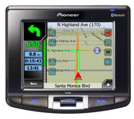 Navegador GPS AVIC-S2 de Pioneer