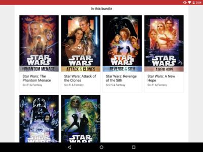 Google Play Store 5.4 esconde sorpresas: packs de películas y pre registro para aplicaciones