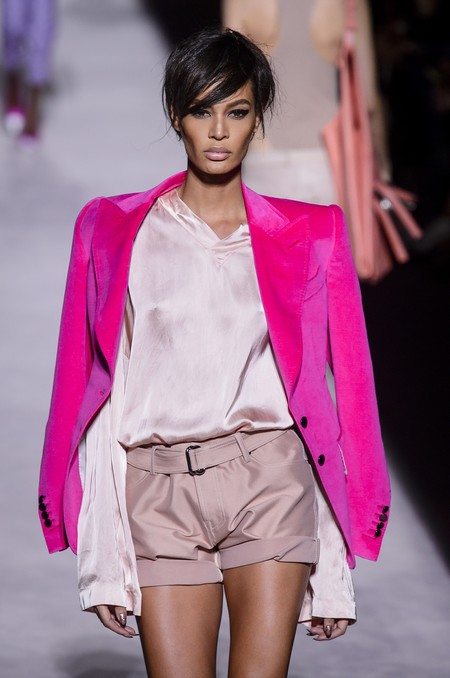 desfile tom ford pelo corto joan smalls