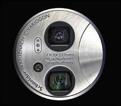 EasyShare V705, otra con dos ópticas