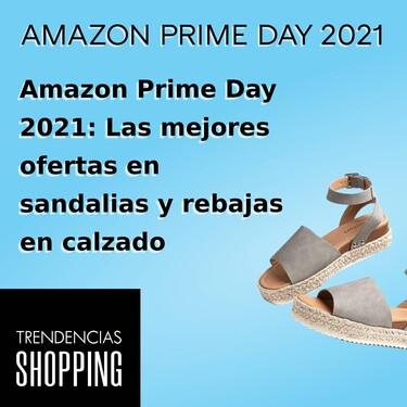 Amazon Prime Day 2021: Las mejores ofertas en sandalias y rebajas en calzado de verano para mujer