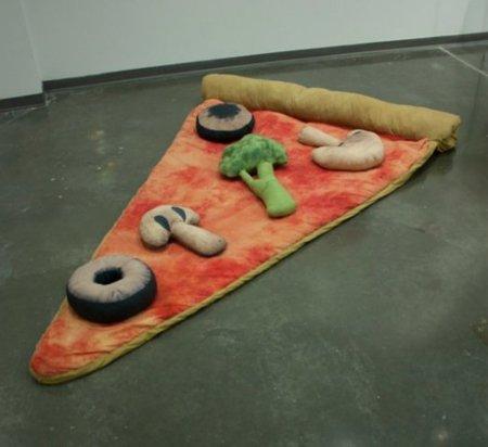 Pizza saco de dormir