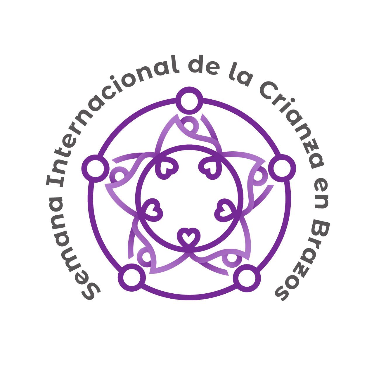 Logotipo semana internacional de la crianza en brazos 2019