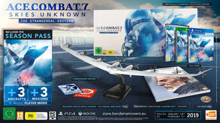 Ace Combat 7 Edicion Coleccionista