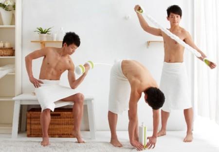 Elimina el estrés y ponte en forma haciendo ejercicio... ¿en el cuarto de baño?
