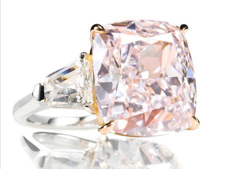 Fancy Pink Diamond 12 cts