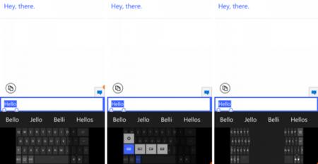 La última build de Windows 10 para móviles nos revela un nuevo teclado, más acciones rápidas y otras mejoras