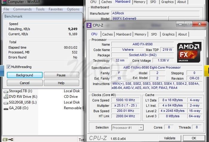 Rendimiento AMD FX-9590 a 5GHz